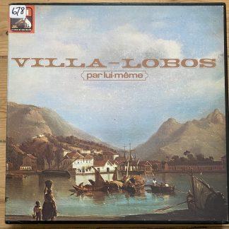 2C 153.14090/9 Villa-Lobos Par Lui-même