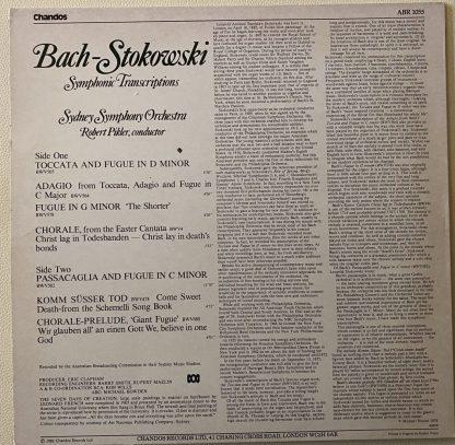 ABR 1055 Bach-Stokowski Symphonic Transcriptions