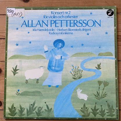 CAP 1200 Pettersson Violin Concerto No. 2 / Ida Haendel / Blomstedt