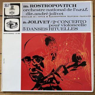 STU 70509 Joliet Cello Concerto / 5 Ritual Dances