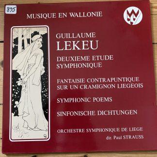 MW 80009 Guillaume Lekeu Symphonic Works / Paul Strauss