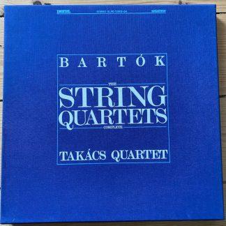 SLPD 12502-04 Bartok The String Quartets