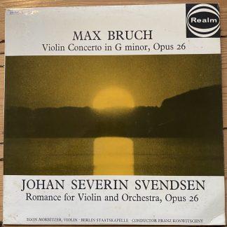 RM 222 Bruch Violin Concerto / Svendsen Romance