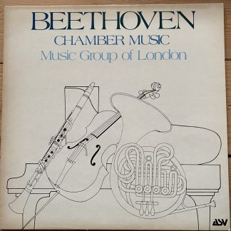 ACA 1005 Beethoven Chamber Music / Music Group of London
