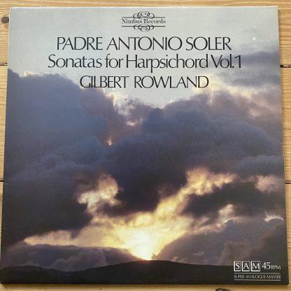 Nimbus 2123 Padre Antonio Soler Sonatas for Harpsichord Vol. 1