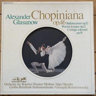 86 884 XDK Glazunov Chopiniana / Roshdestvensky
