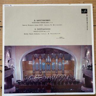 33C-01427-28a Shostakovich Ballet Suits 1, 2 & 3 / M. Shostakovich / Bolshoi Theatre Orch