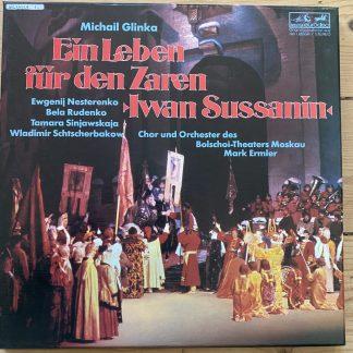 3011 111-445 Glinka A Life For A Tsar / Ermler / Bolshoi Theatre 3 LP box set