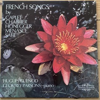 Nimbus 2112 French Songs / Hugues Cuenod / Geoffrey Parsons