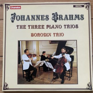 DBRD 2005 Brahms The Three Piano Trios / Borodin Trio 2 LP set