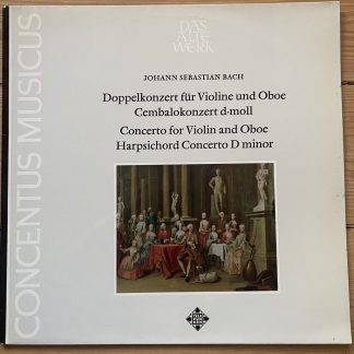 SAWT 9557 Bach Double Concerto for Violin & Oboe