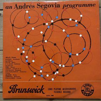 AXTL 1060 An Andrés Segovia Programme