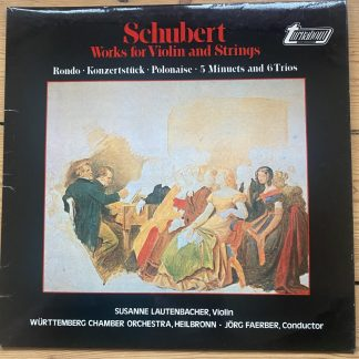TVS 34729 Schubert Works for Violin and Strings /