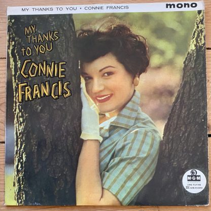 MGM-C-782 Connie Francis My Thanks To You