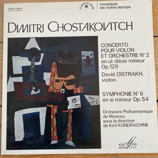 LDX-A 78415 Shostakovich Violin Concerto No. 2