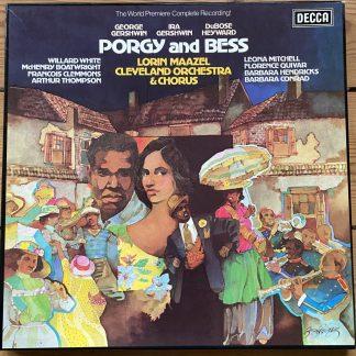SET 609-11 Gershwin Porgy & Bess / Maazel / CO&C / HP LIST / 3 LP box set