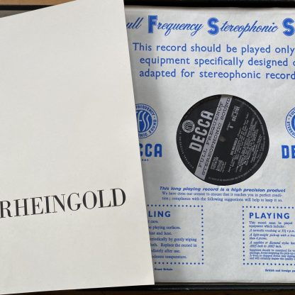 SET 312-6 Wagner Die Walkure / Solti / VPO 5 LP box set