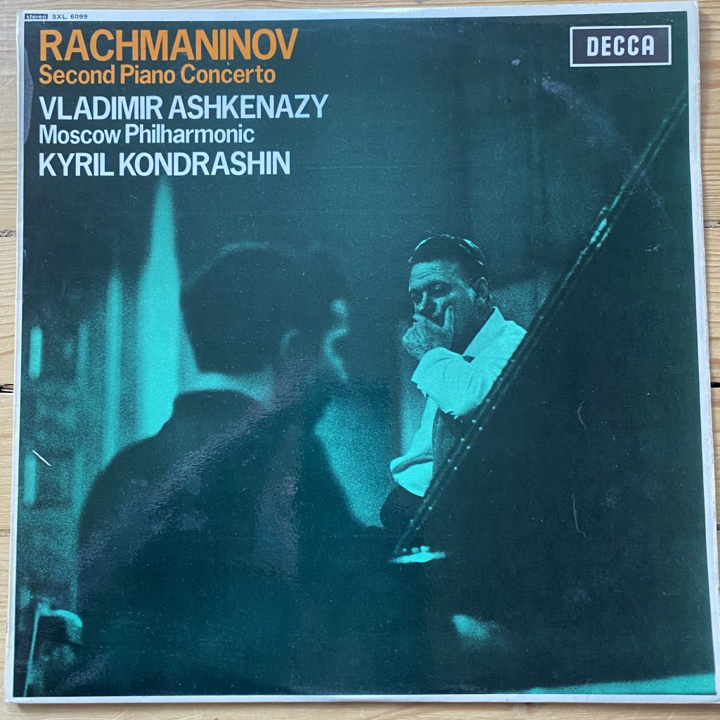 SXL 6099 Rachmaninov 2nd Piano Concerto, etc. / Ashkenazy / Kondrashin W/B