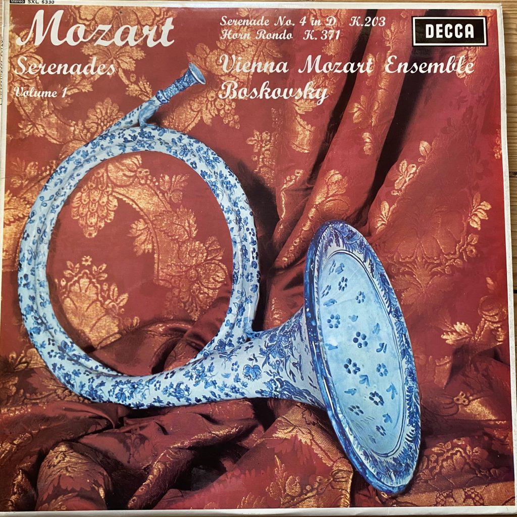 SXL 6330 Mozart Serenade Vol. 1 / Boskovsky / VME W/B