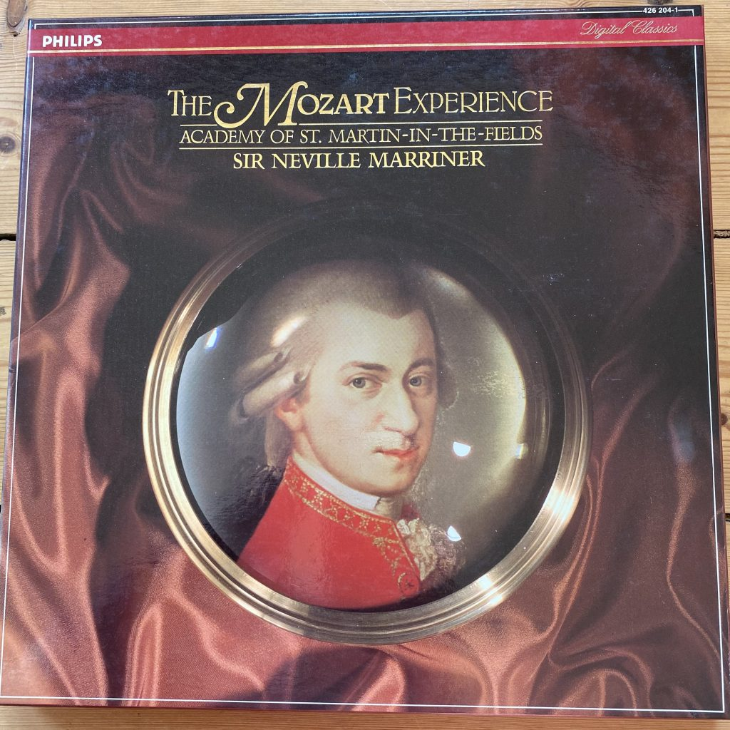 426 204-1 The Mozart Experience / Marriner / ASMF 5 LP box