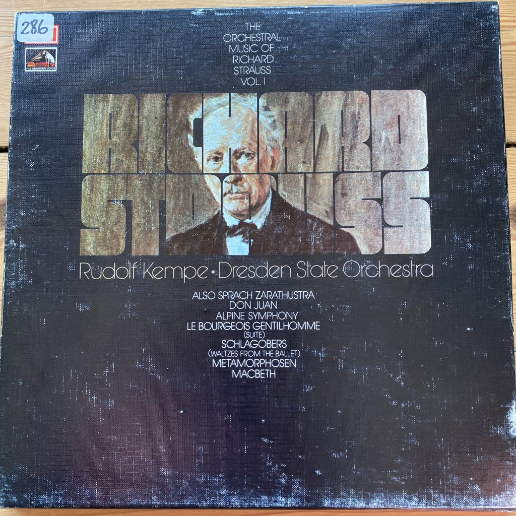 SLS 861 Strauss Orchestral Works Vol. 1 / Kempe 4 LP box