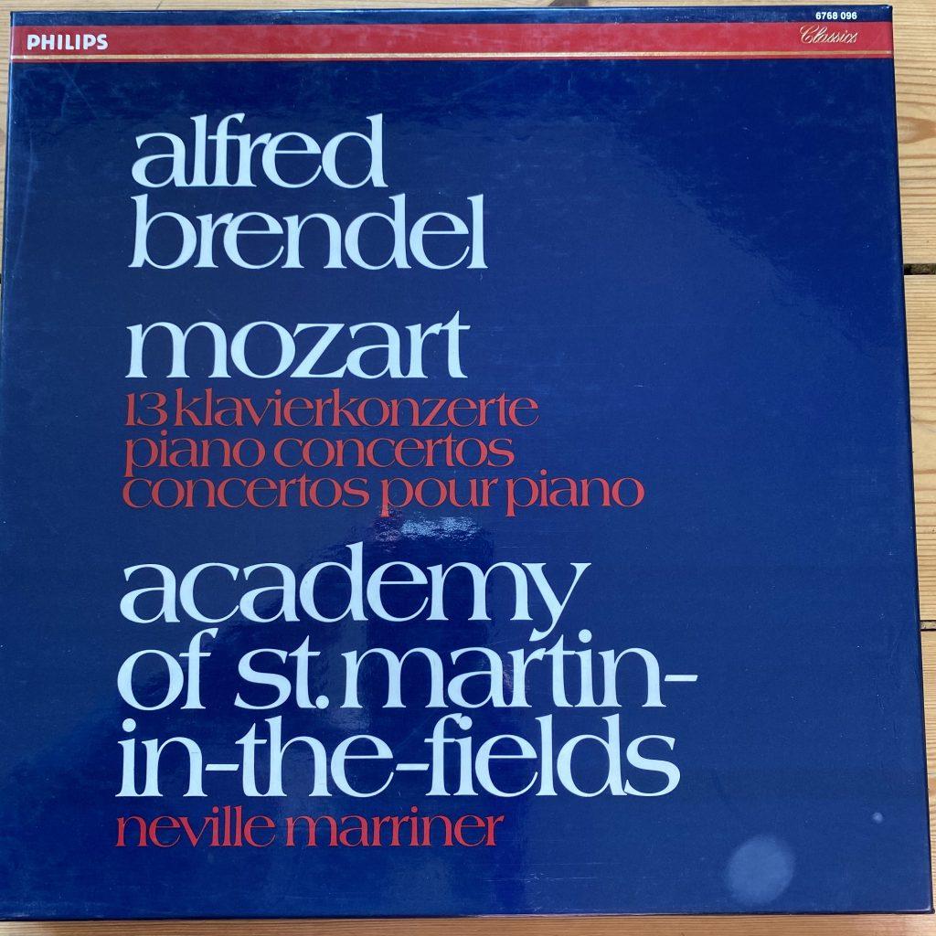 6768 096 Mozart 13 Piano Concertos / Brendel / Marriner