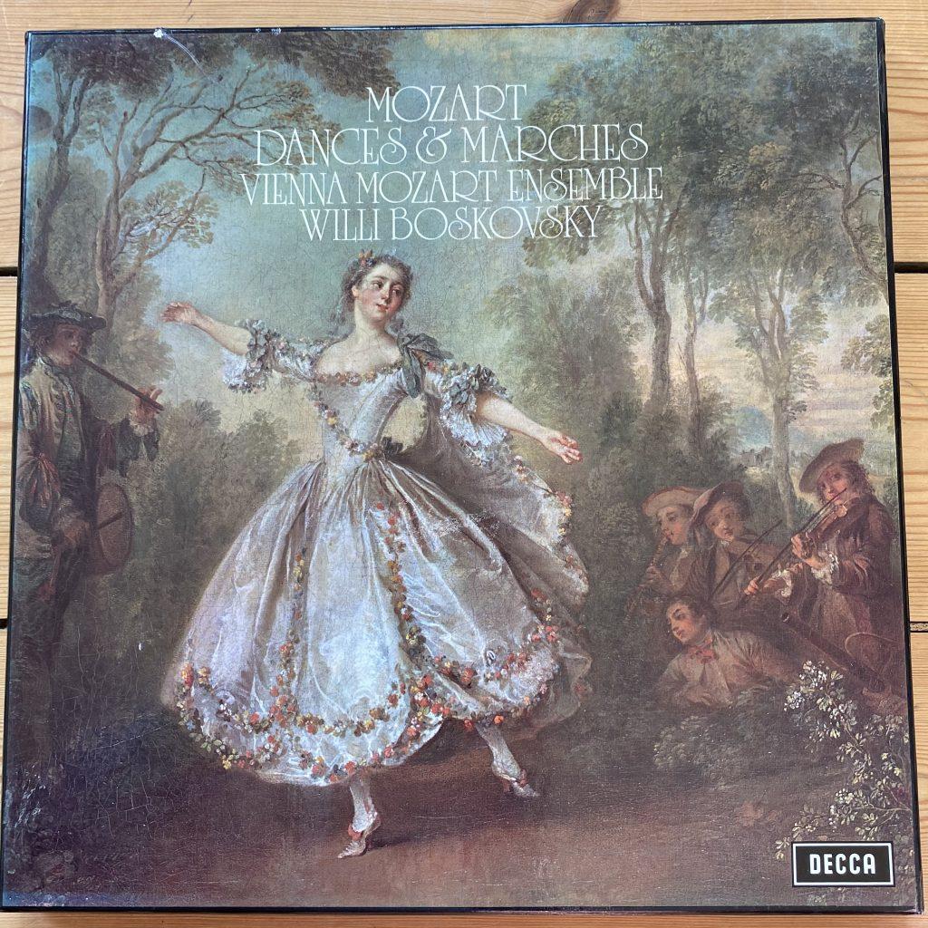 SDDH 347-51 Mozart Dances and Marches / Boskovsky / VME / 5 LP box set
