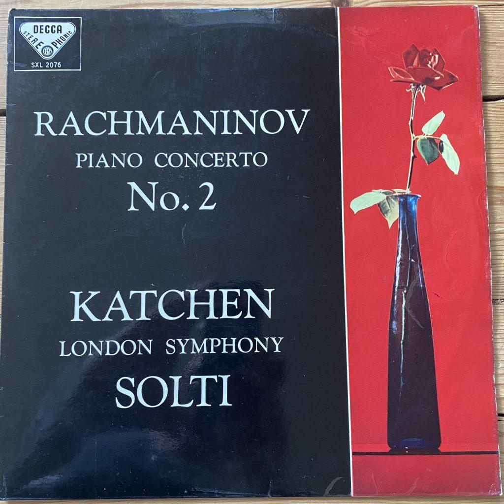 SXL 2076 Rachmaninov Piano Concerto No. 2 / Katchen / Solti / LSO W/B