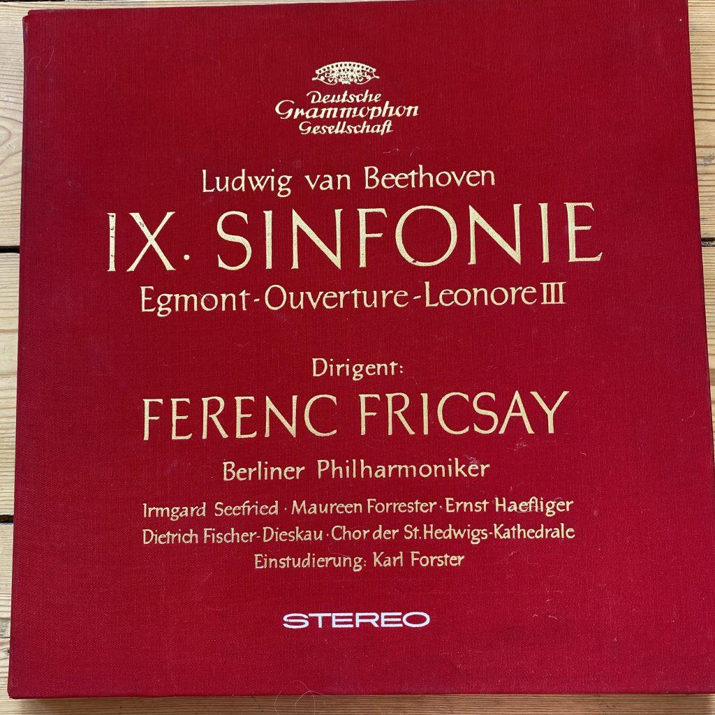 138 003/4 Beethoven Symphony No. 9 etc. / Friscsay