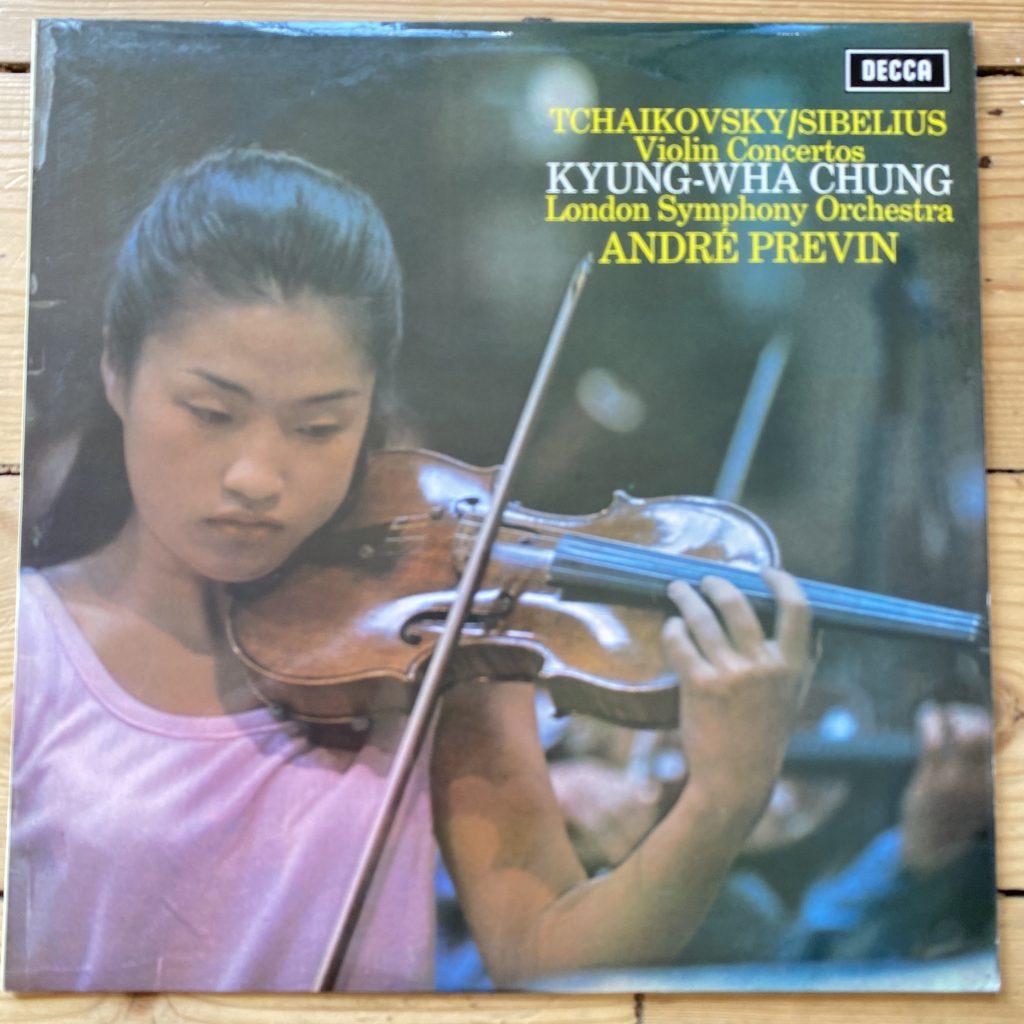 SXL 6493 Tchaikovsky / Sibelius Violin Concertos / Chung / Previn / LSO