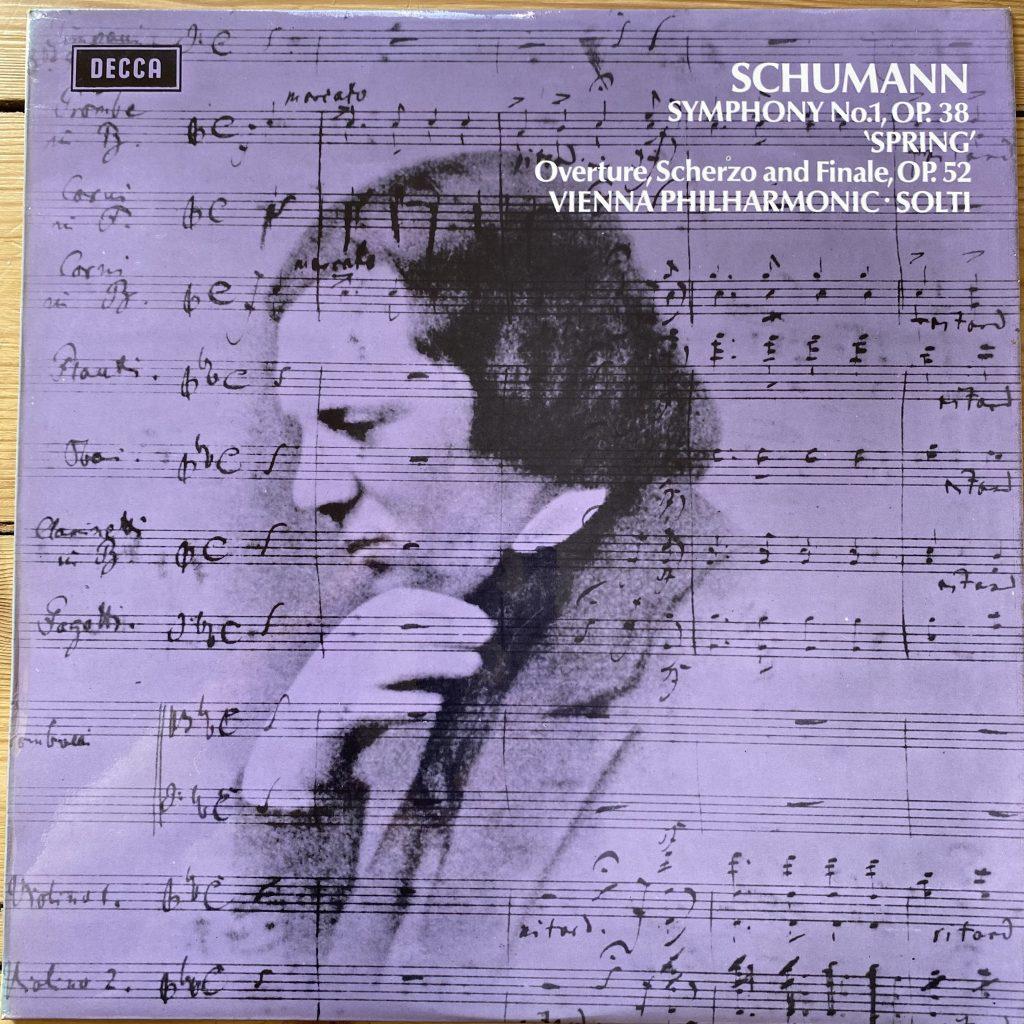 "SXL 6486 Schumann Symphony No. 1 ""Spring"", etc. / Solti / VPO"
