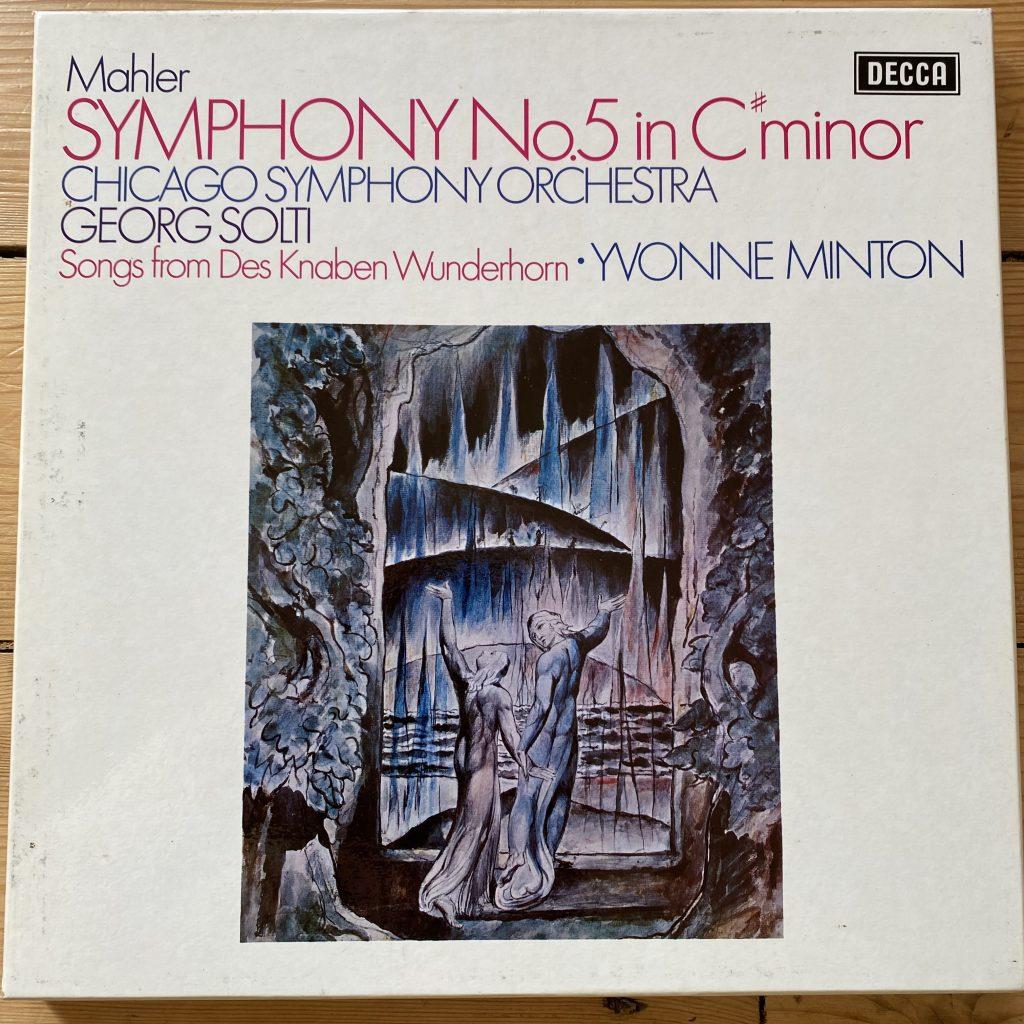 SET 471-2 Mahler Symphony No. 5 / Solti / CSO 2 LP box