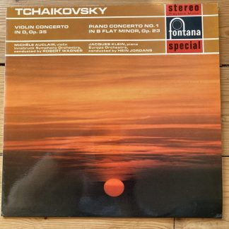 SFL 14059 Tchaikovsky Violin Concerto, etc. / Michele Auclair