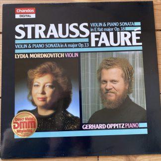 ABRD 1151 Strauss / Faure Violin Sonatas / Lydia Mordkovitch / Gerhard Oppitz