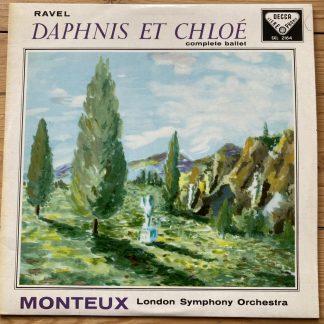 SXL 2164 Ravel Daphnis et Chloe / Monteux / LSO W/B