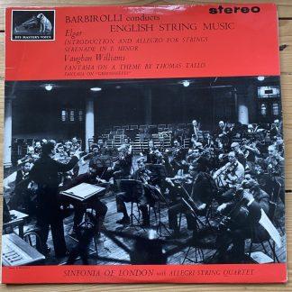 ASD 521 Barbirolli Conducts English String Music W/G