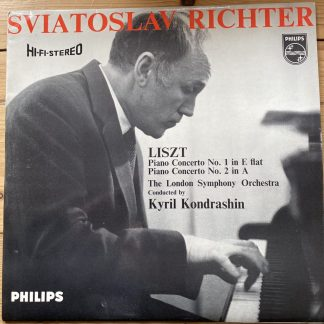 SABL 207 Liszt Piano Concertos Nos. 1 & 2 / Richter HI-FI STEREO