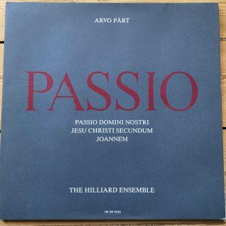 ECM 1370 Arvo Part Passio / The Hilliard Ensemble