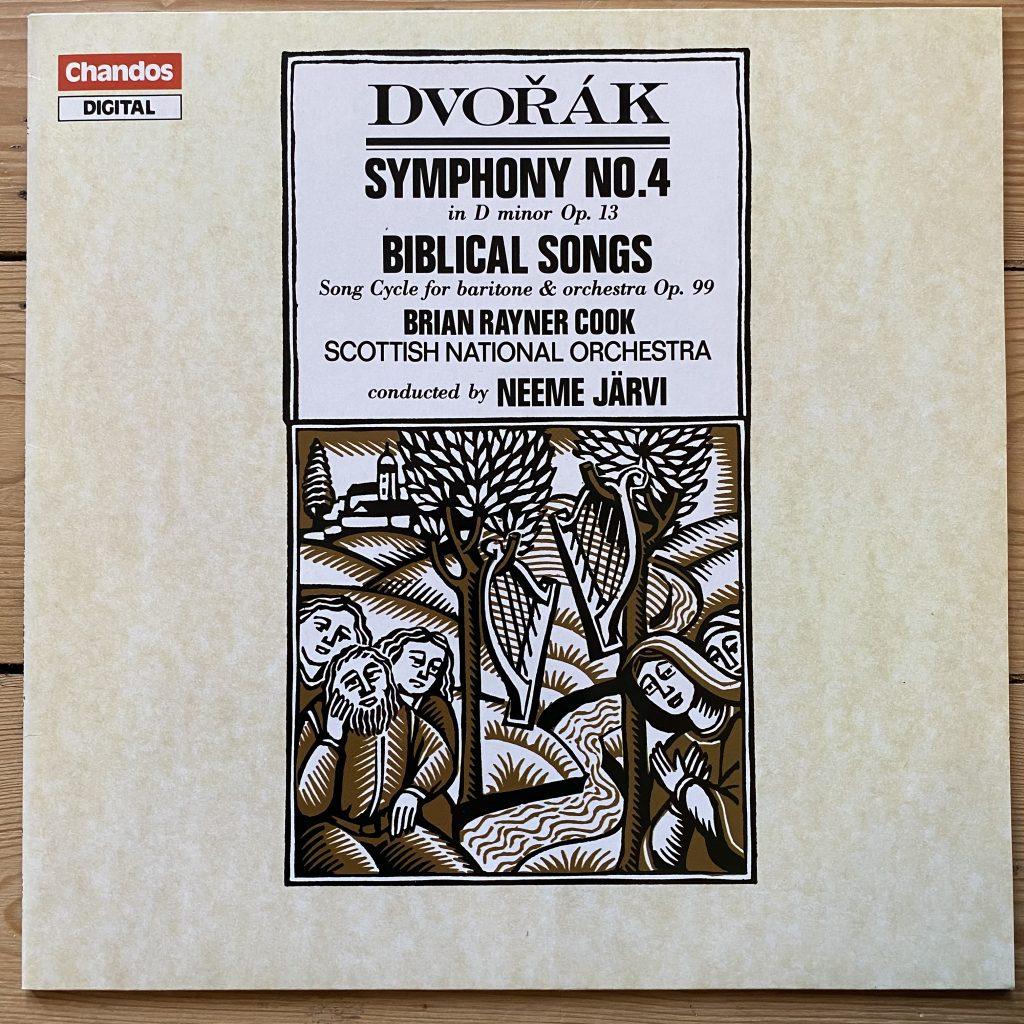ABRD 1251 Dvorak Symphony No. 4 / Biblical Songs / Järvi / SNO