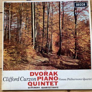 SXL 6043 Dvorak Piano Quintet / Curzon / Vienna Phil Quartet W/B