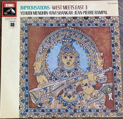 1C 063-02 822 Improvisations - West Meets East 3 / Menuhin / Rampal