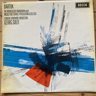 SXL 6111 Bartok The Miraculous Mandarin etc / Solti W/B