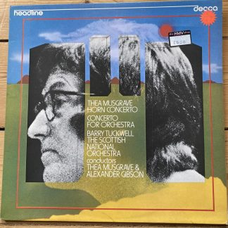HEAD 8 Thea Musgrave Horn Concerto / Concerto For Orchestra