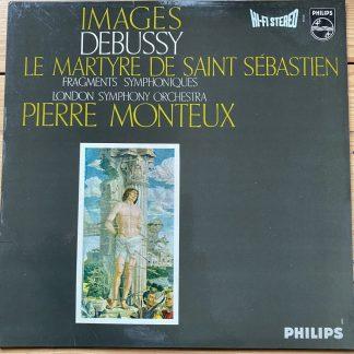 SAL 3459 Debussy Images etc. / Monteux HI-FI