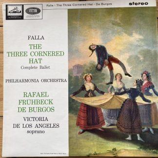 ASD 608 Falla Three-Cornered Hat / de Durgos / Philharmonia S/C