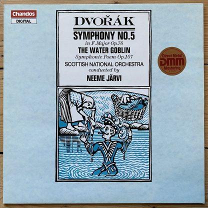 ABRD 1258 Dvorak Symphony No. 5 / The Water Goblin / Järvi / SNO