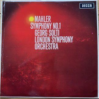 SXL 6113 Mahler Symphony No. 1 / Solti / LSO W/B