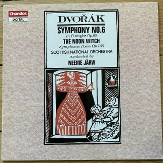 ABRD 1240 Dvorak Symphony No. 6 / The Noon Witch / Järvi / SNO