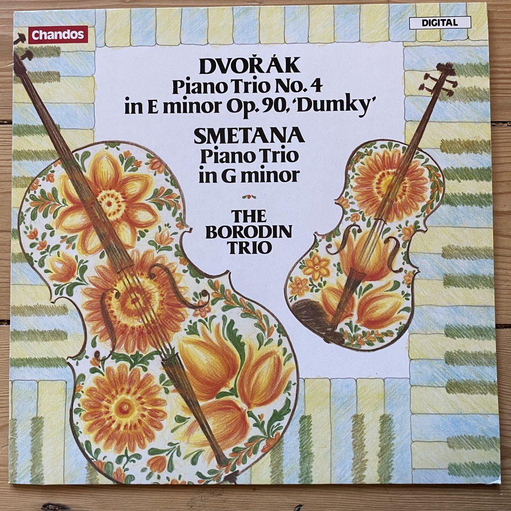 ABRD 1157 Dvorak / Smetana Piano Trios / Borodin Trio