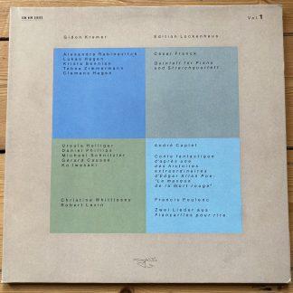 ECM 1304/05 Gidon Kremer Edition Lockenhaus Vol. 1 & 2 2 LP set